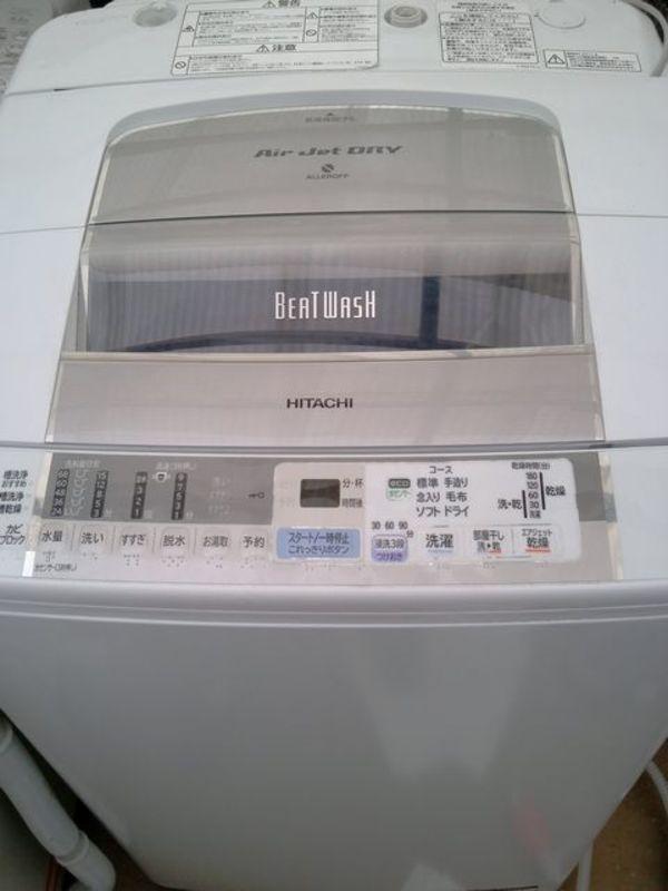 洗濯機を買取いたしましたサムネイル