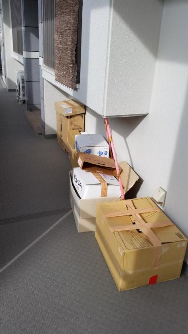 諏訪野町のお客様宅に古紙の回収サムネイル