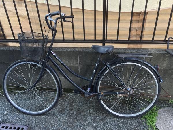 国分町で自転車の回収サムネイル