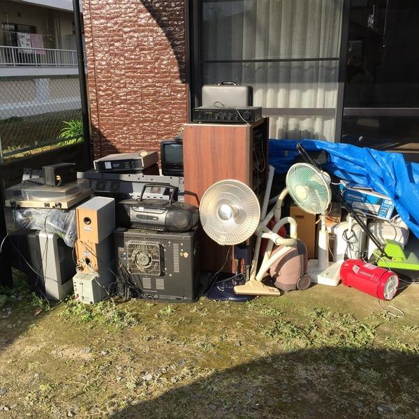 合川町で家電類を回収いたしました。サムネイル