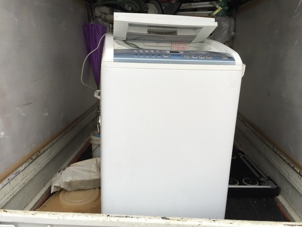 梅満町で洗濯機の回収サムネイル