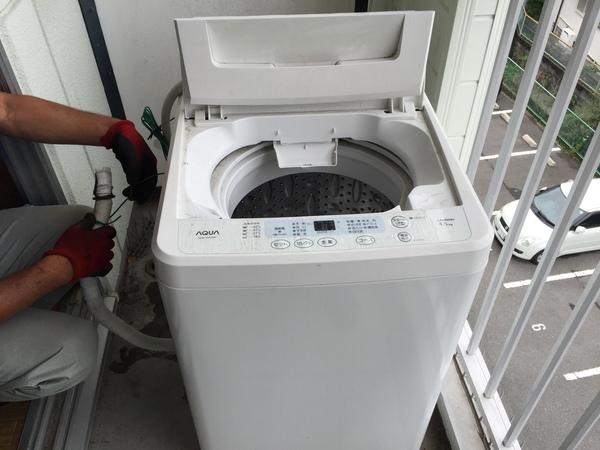 津福本町で洗濯機の回収サムネイル