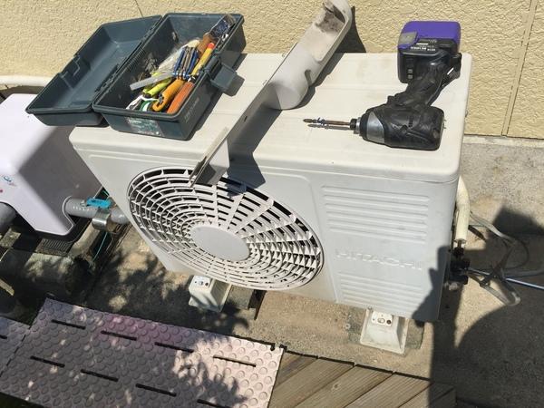 合川町でエアコンの処分サムネイル