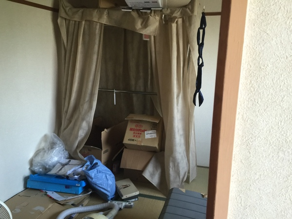 南薫西町で衣類、布団の処分サムネイル