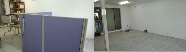 久留米市で事務所の片付けですサムネイル
