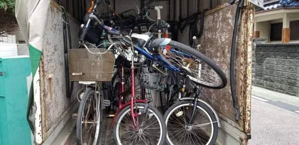 久留米:マンション自転車撤去サムネイル