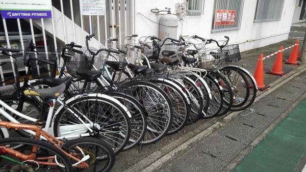 久留米で自転車撤去サムネイル