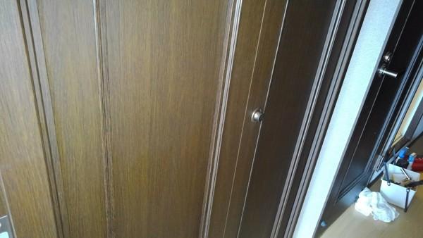 久留米のマンションで折り戸の修理サムネイル