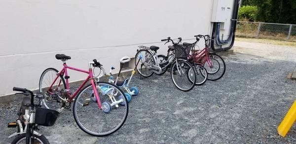 鳥栖市団地からたくさんの自転車回収サムネイル