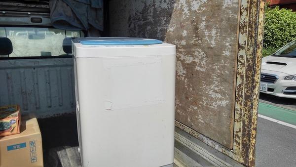 久留米で洗濯機の回収サムネイル