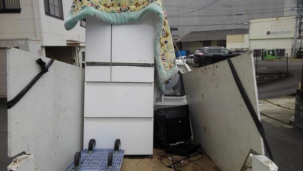 久留米で冷蔵庫の無料回収サムネイル