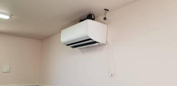 またまたエアコン取り付け:筑後市サムネイル