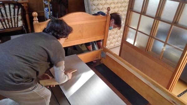 久留米市でベッドの移動サムネイル