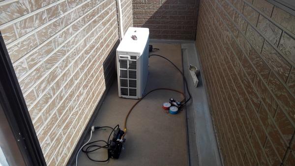 久留米市のアパート 不用品処分・エアコン付け替えサムネイル