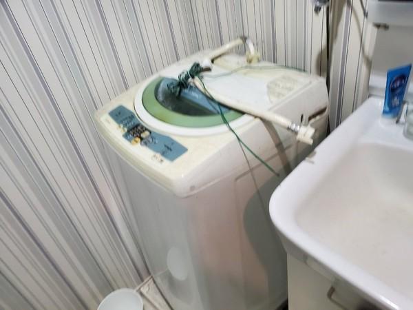 久留米市 のアパートから 不用 洗濯機の回収サムネイル