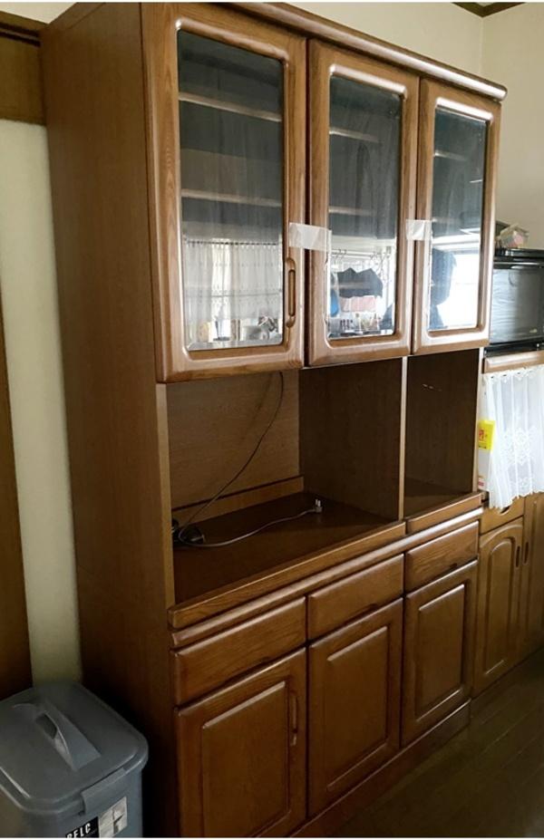 小郡市で食器棚の回収へ 3密いやぁん!サムネイル