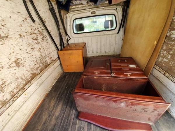 久留米市で小さい棚とサイドチェストの回収です。サムネイル