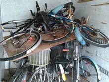 自転車回収:久留米市サムネイル