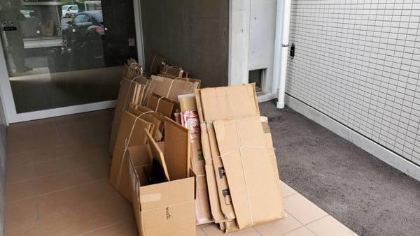 割れたガラスの処分 不用品回収:久留米市サムネイル