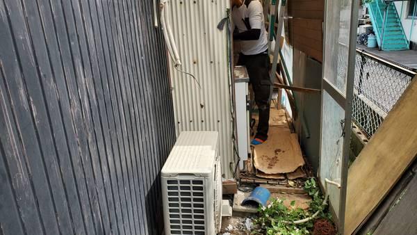 そろそろ暑くなってきたので早めにエアコン取付のご依頼 久留米市サムネイル
