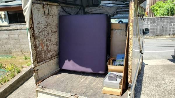久留米市でベッドの回収サムネイル