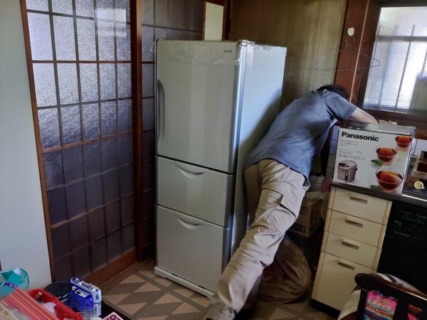 冷蔵庫・洗濯機の移動と保管 柳川市から久留米市までサムネイル