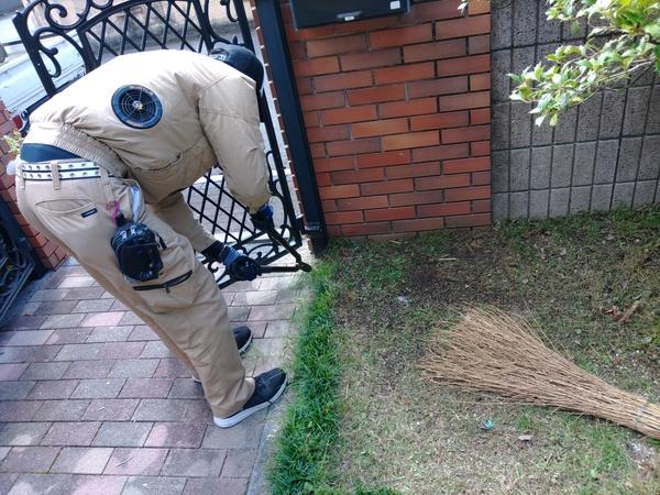 佐賀市で芝刈りサムネイル